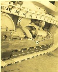 John Deere Crawler 755B Track Frame