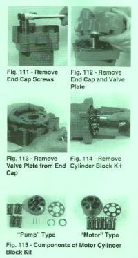 Sundstrand Sauer Series 40 M46 Disassembly of Fixed Displacement Motor