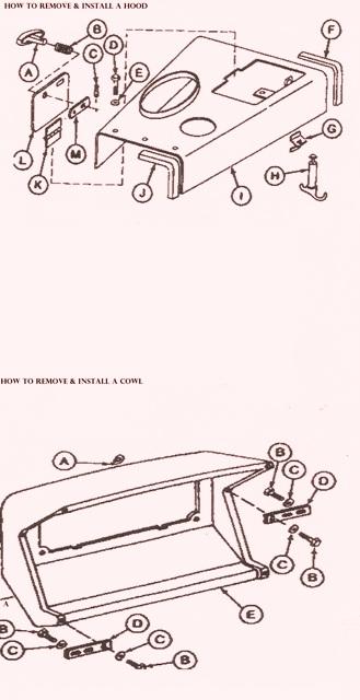 John Deere Crawler 755B – Remove & Install a Hood and Cowl