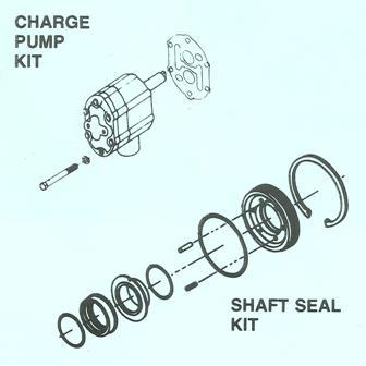 Sundstrand Sauer Danfoss Series 20 Parts Kits