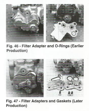 Sundstrand Sauer Danfoss Series 40 M46 Filter Adapter