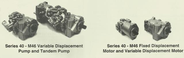 Sundstrand Sauer Danfoss Series 40 M46 Pump and Motor