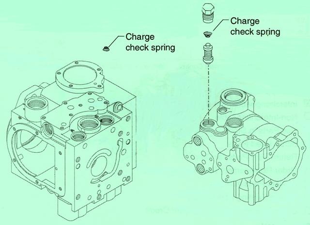 Sundstrand Sauer Danfoss Series 40 M46 Charge Check Valve
