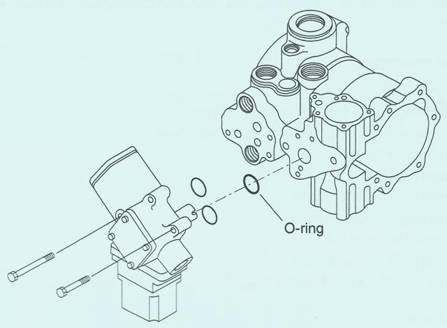 Sundstrand Sauer Danfoss Series 40 M46 EDC & HDC O Ring Change