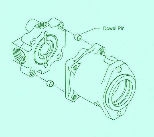 Sundstrand Sauer Danfoss Series 40 – Adding an Endcap Dowel Pin