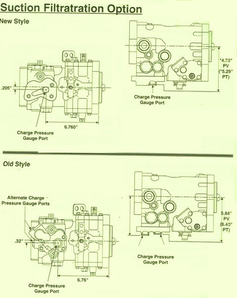Sundstrand Sauer Danfoss Series 40 Suction Filtration Option