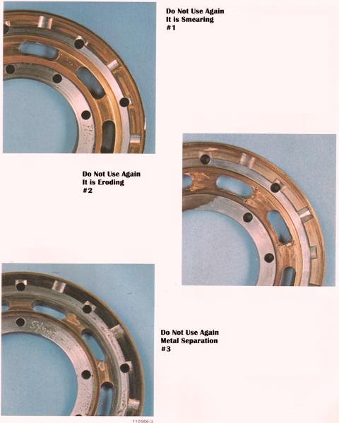 Sundstrand Sauer Danfoss Series 20 Bi Metal Bearing Plates