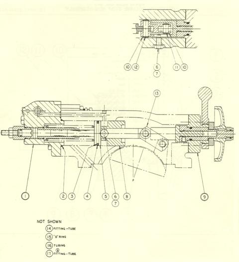 Denison Hydraulic Pump Series 2-700 / 3-700 Minimum / Maximum Volume Stops