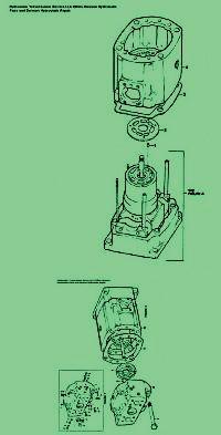 Denison Auxiliary & Barrel Shaft Assy