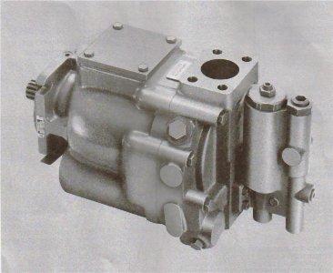 Vickers Hydraulic Piston Pump – Standard Thru Drive