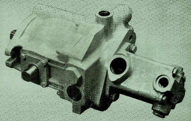 Vickers Single Transmission Pump w/ Single Vane Pump TA19V20-21