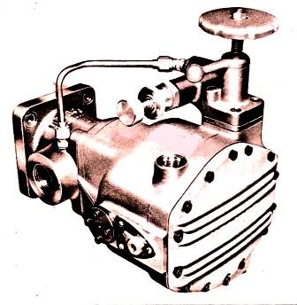 Denison Series 500 Variable Pump With Pressure Compensator & Maximum Volume Control