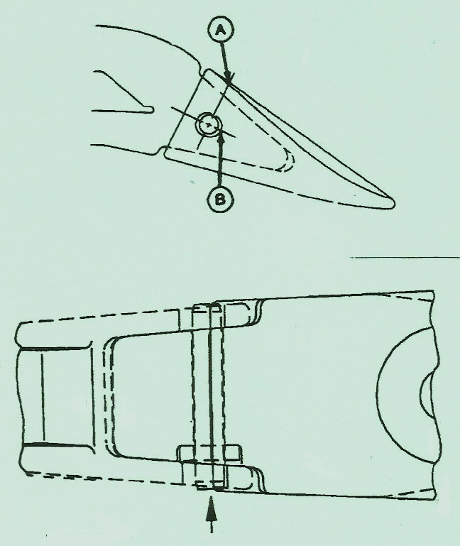 John Deere  Crawler 755B – Bucket Tooth Tip & Shank Attachment