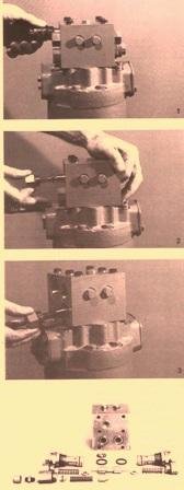 Sundstrand Sauer Danfoss Hydraulic Series 20 – Components of a Manifold Assy