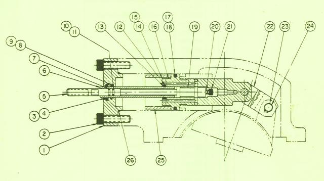 Denison Hydraulic Piston Pump Series 2-700/3-700 Linear Servo Control