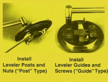 Sundstrand Sauer Danfoss Hydraulic Pump Series 90 Leveler Posts, Nuts, Guides & Screws