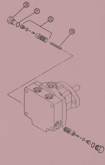 Sundstrand Sauer Danfoss Hydraulic Series 15 Split Type Acceleration Valve