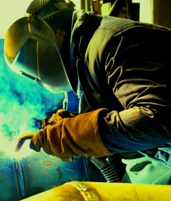 John Deere 755B Crawler – Steps to Welding Track Frame