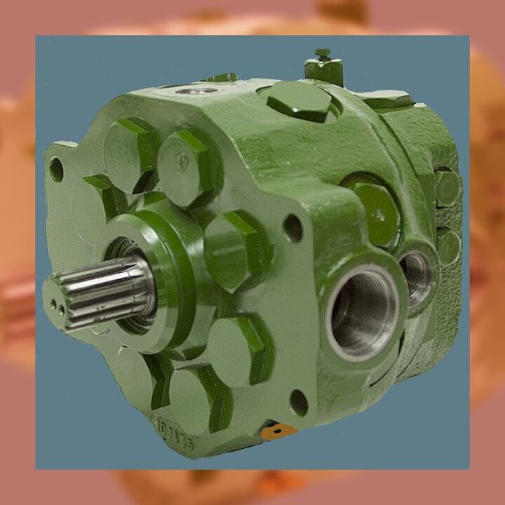 John Deere 490D Hydrostatic Pump Repair