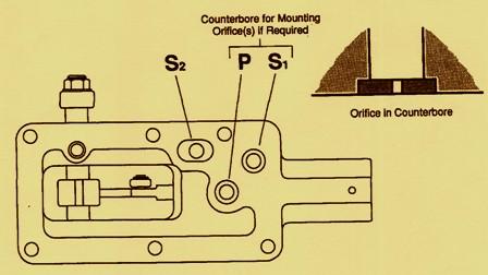 Eaton Hydraulic Series 76 Control Orifice