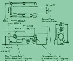 Eaton Series 76 Hydraulic Remote Pump Control