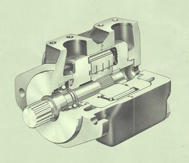Vickers Hydraulic Vane Motors 25M/26M Series 20
