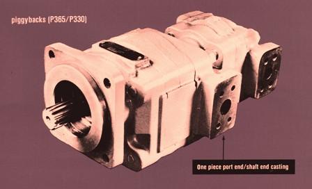 Hydraulic Oil Multiple/Piggyback Pumps & Motors 315,330,350 & 365