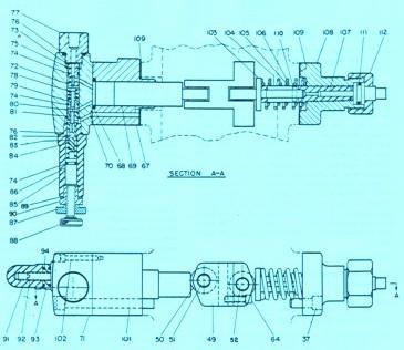 Denison PV06,07,08 Series – Pressure Compensator