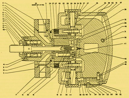 Denison Variable Volume Pump Series 600/700/800