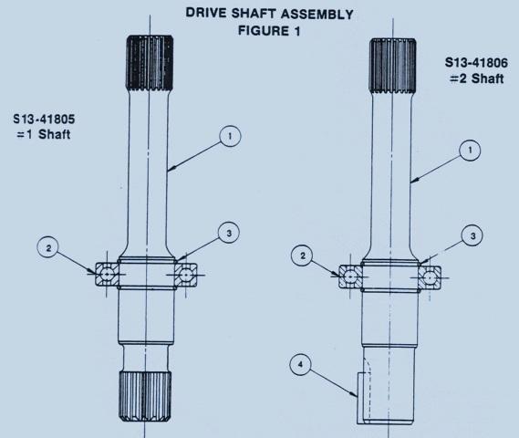 Denison Goldcup Drive shaft Assembly