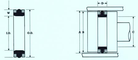 Hydraulic T Seals