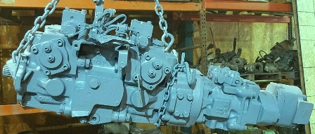 Komatsu Hydraulic Equipment Repair of Pumps and Motors