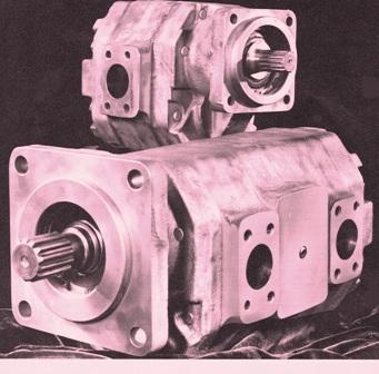 Hydraulic Oil Pumps & Motors P125 Series  – Breakdowns