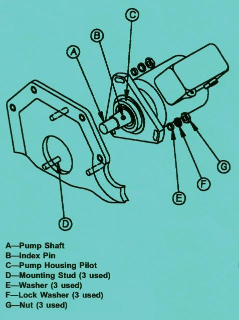 755B John Deere Crawler Injection Hydraulic Pump