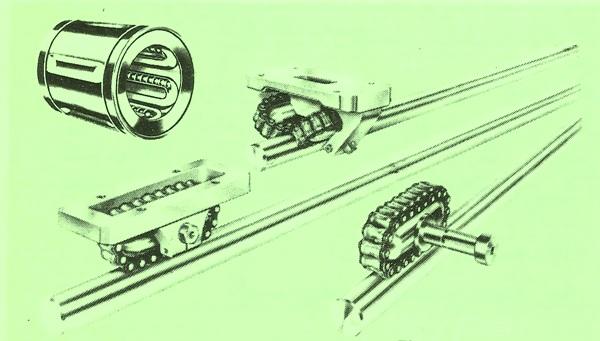 Redistributing The Ball & Roller Chain Bearings