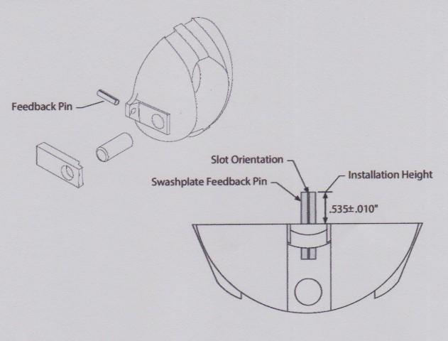 Sundstrand Series 40 Axial Piston Pump – Feedback Pin